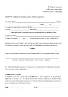 Modulo Richiesta Credenziali Registro Elettronico Scuola Secondaria I Grado
